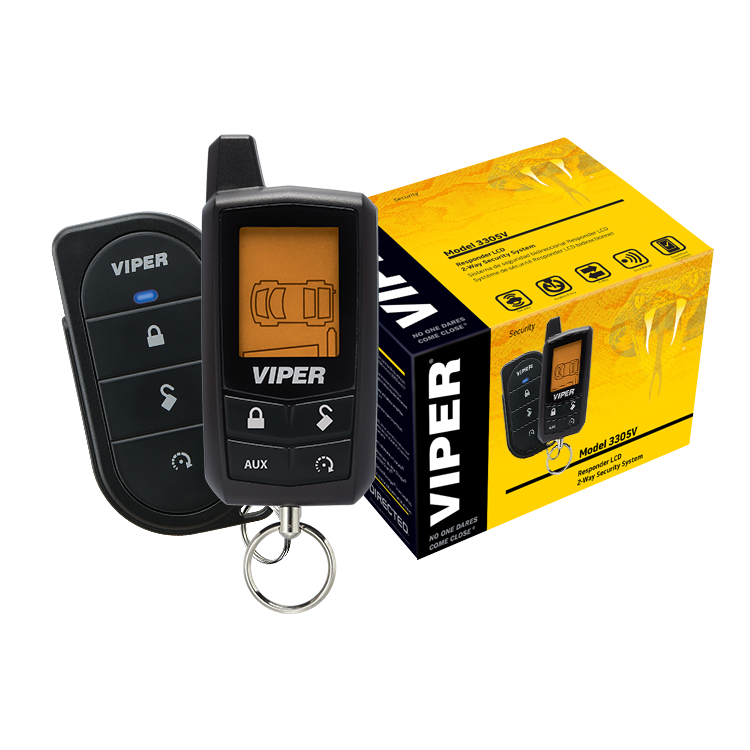 Viper LCD 2-Way Security System