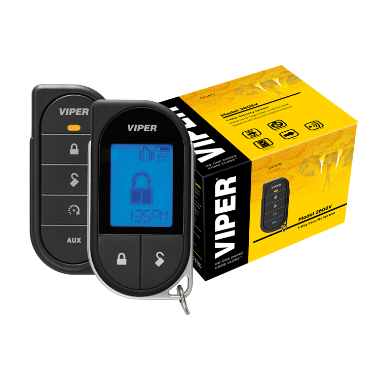 Viper Premium LCD 2-Way Security System